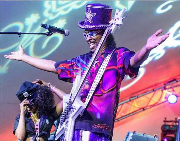 Photo: Bootsy Collins Facebook