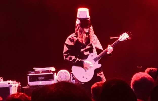 Buckethead @ Aztec stage. PhotoCredit: Mike McMahan