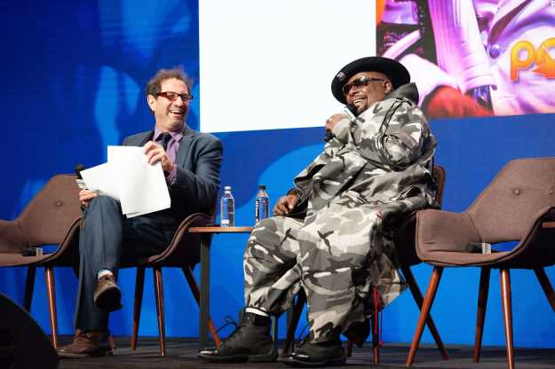 Andy Gensler and George Clinton at Pollstar Live! 2019. PhotoCredit: Nathan Larimer