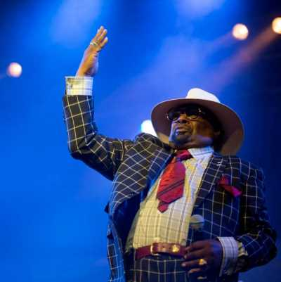 George Clinton. PhotoCredit: The Sydney Morning Herald
