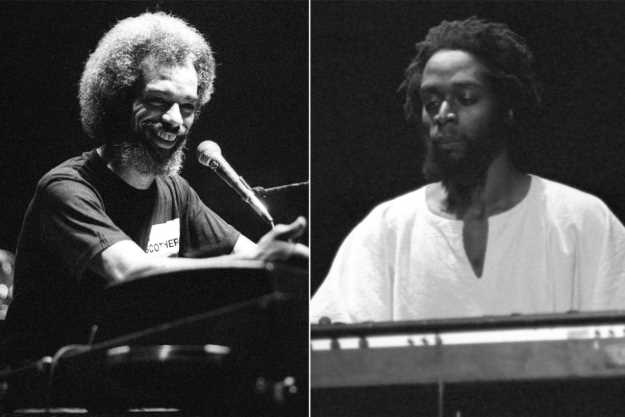 Gil Scott-Heron and Brian Jackson. Ian Dickson/Shutterstock, Tony Murphy/Michael Ochs Archives/Getty Images