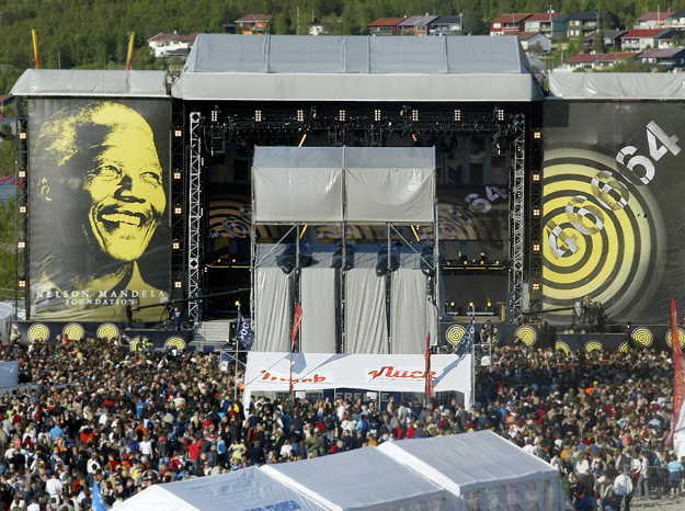 46664 concert in Tromso. Photo: REUTERS